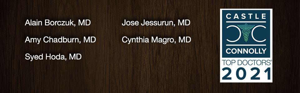 Best Doctors 2021 - WCM Pathology